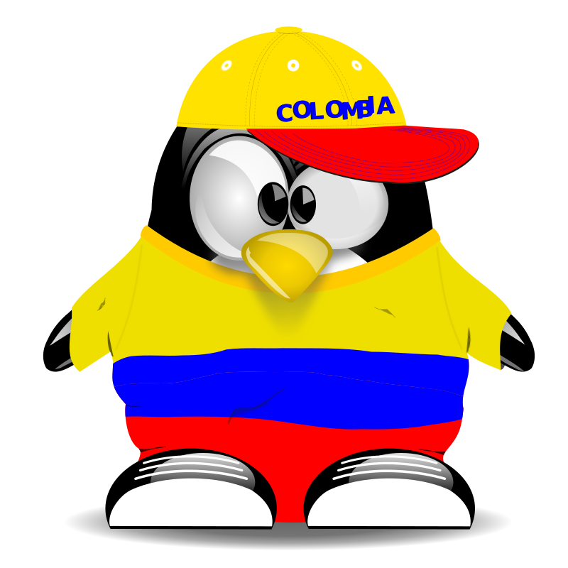 ColombianUX by yamid - Tux as a colombian