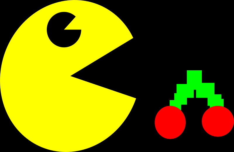 pacman by PeterBrough - loves ghost