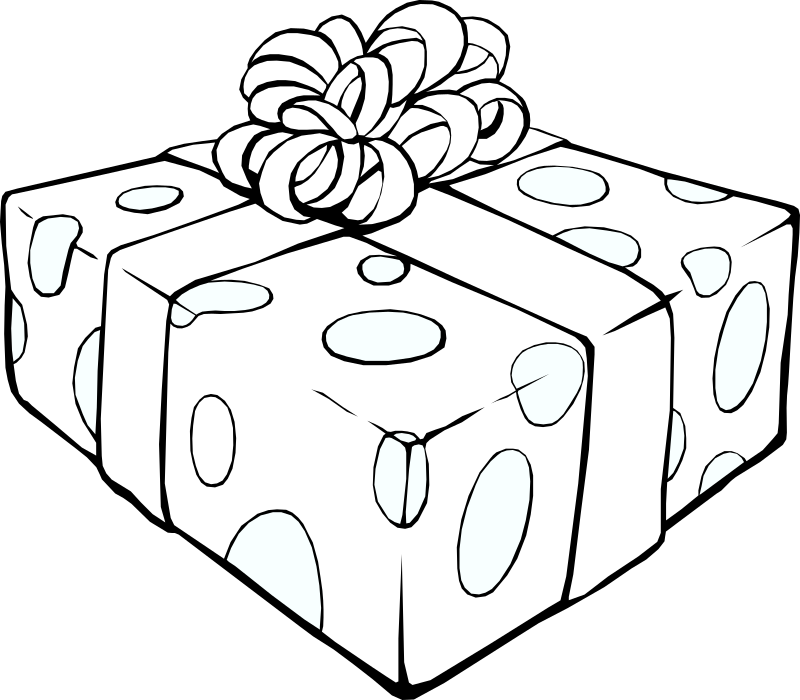 Gift Line Art by gammillian