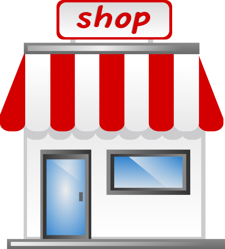 Shop front Icon by shokunin - Cute shop, home
