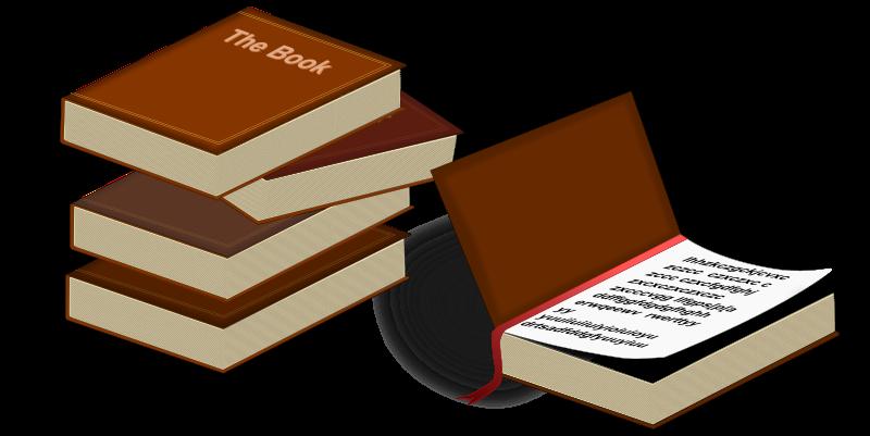 Clipart - Books