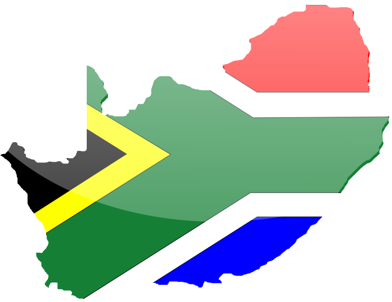 South African Flag 2 by inky2010