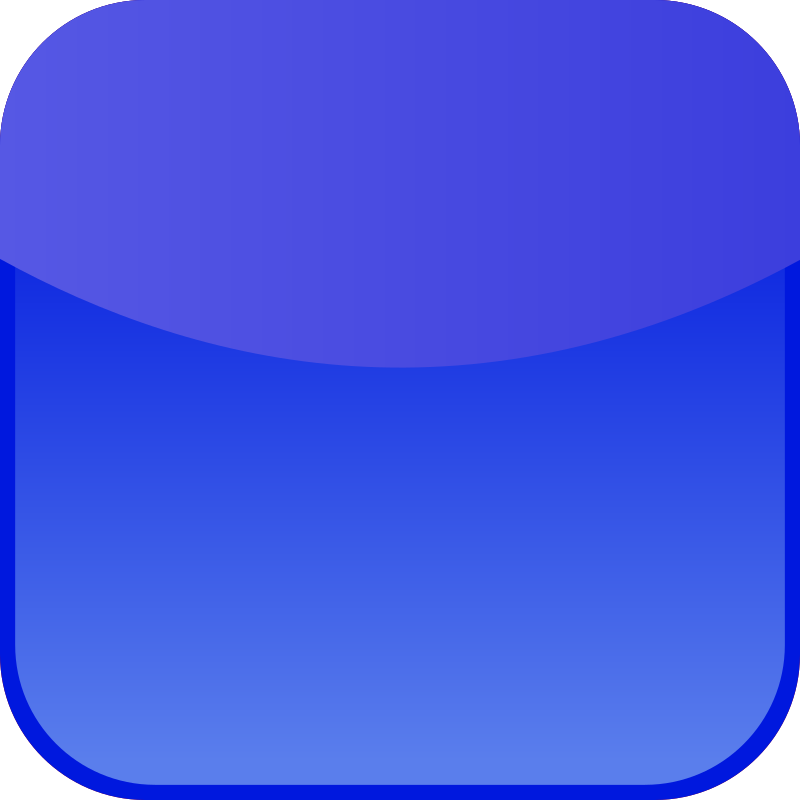 blue icon by shokunin - Set of Icons for use with mobiles, web tec.