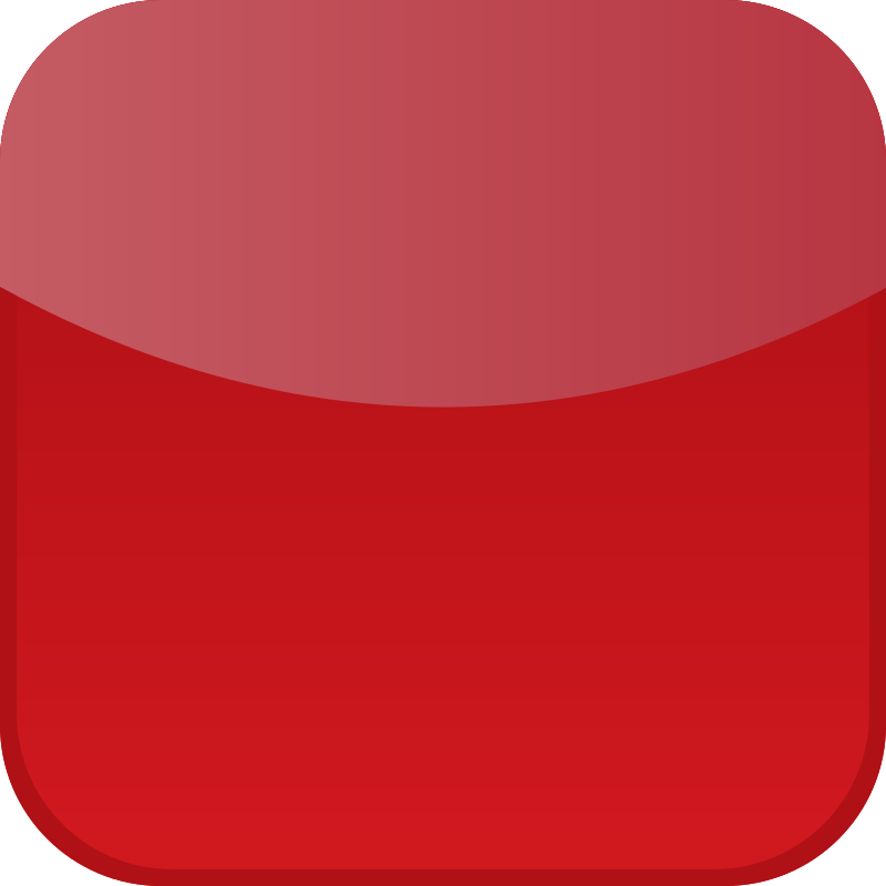 Red icon by shokunin - Icon for mobile or web.