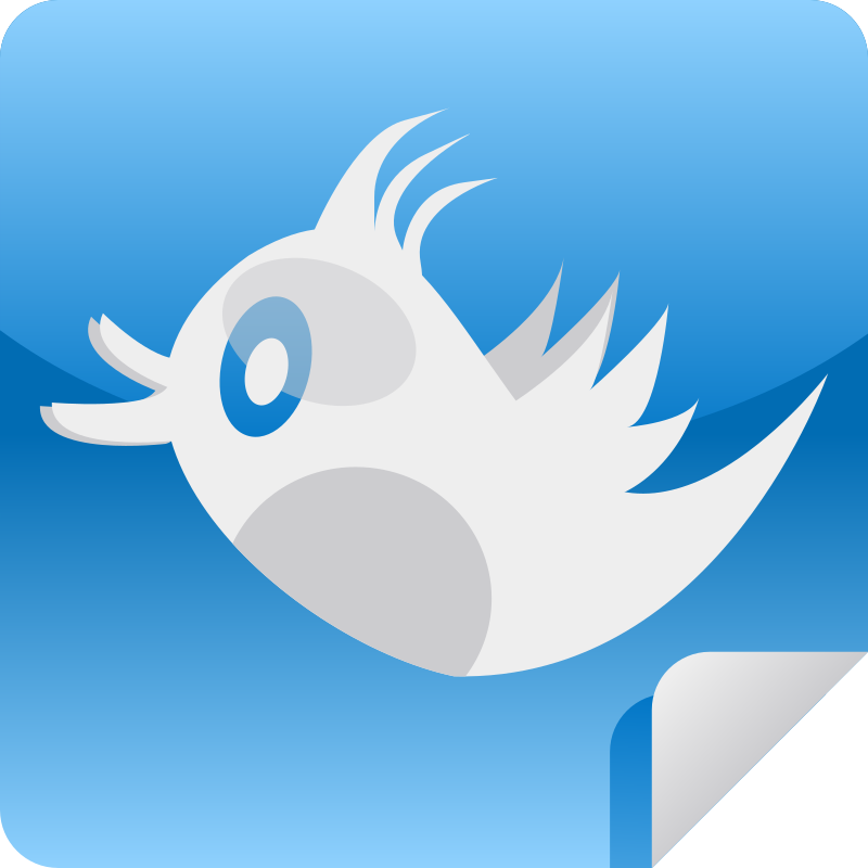 Bird Icon by shokunin - icon for social networking app