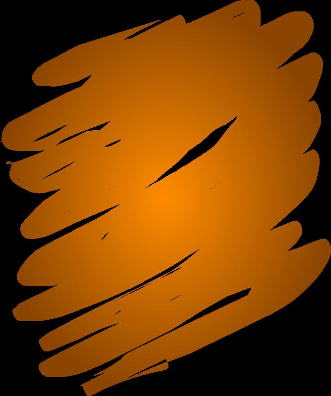 Clipart Orange Blend