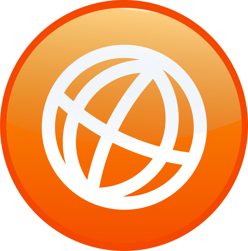 globe by shokunin - Set of web 2.0 icon, available as one download,look in my clip arts.