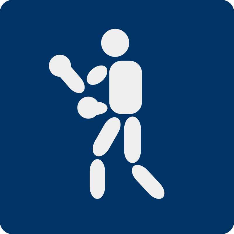 boxing pictogram by shokunin - Separate entries of sport pictogram from my set