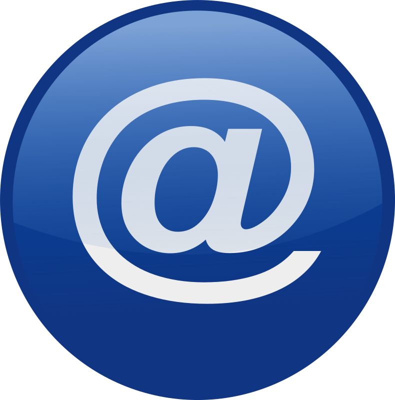 email-blue by shokunin - Single web 2.0  icons from my set. check the whole set in my clip art if you want get all of it together.