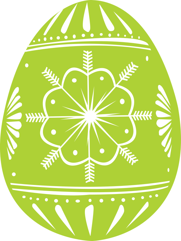 easter egg green by shokunin - Easter eggs