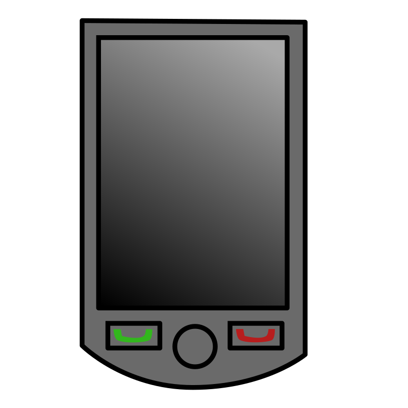 PDA by george_edison55 - A mobile device that represents a PDA or smartphone.