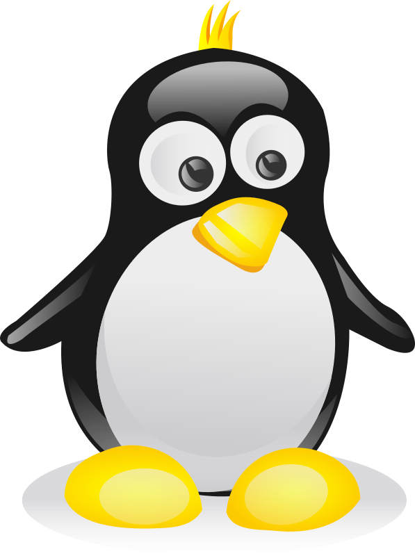 Tux by shokunin - My first Tux.
