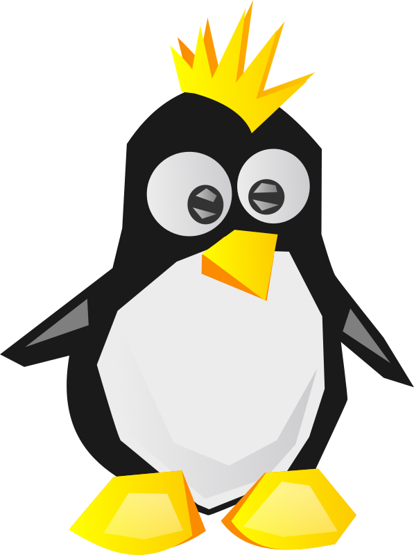 Tux by shokunin - Tux but without nice round shapes, more sharp.