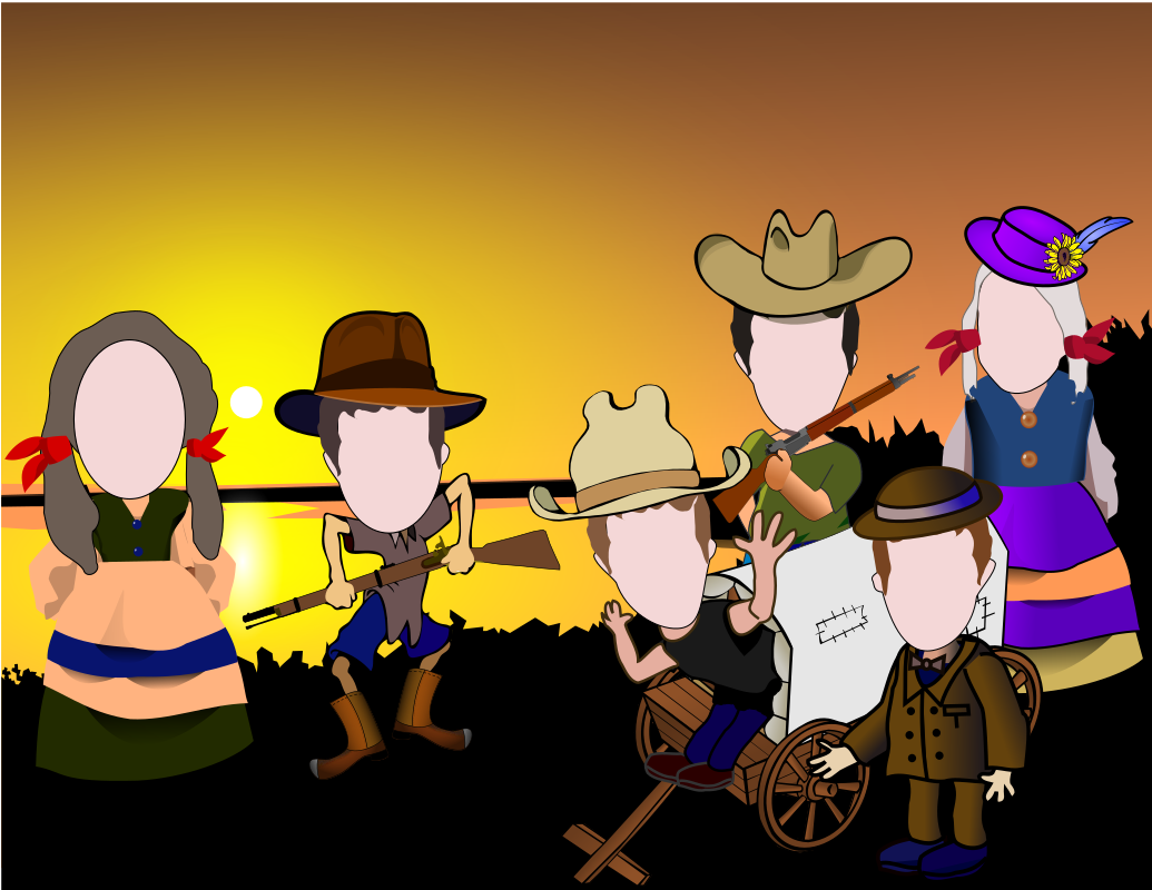 Western Caricatures by Jack_Rabbit