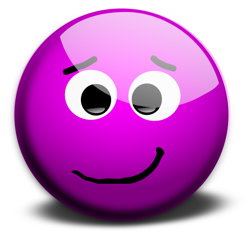 M Face-1 by inky2010 - Purple smileys