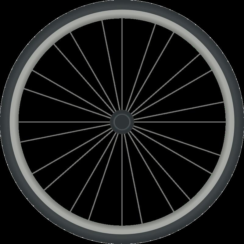 Simple Bicycle Drawing Bicycle Wheel Drawing