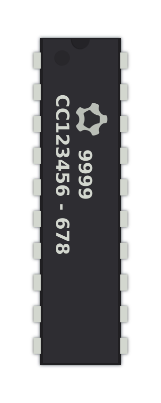 Generic 20-pin IC by carlitos