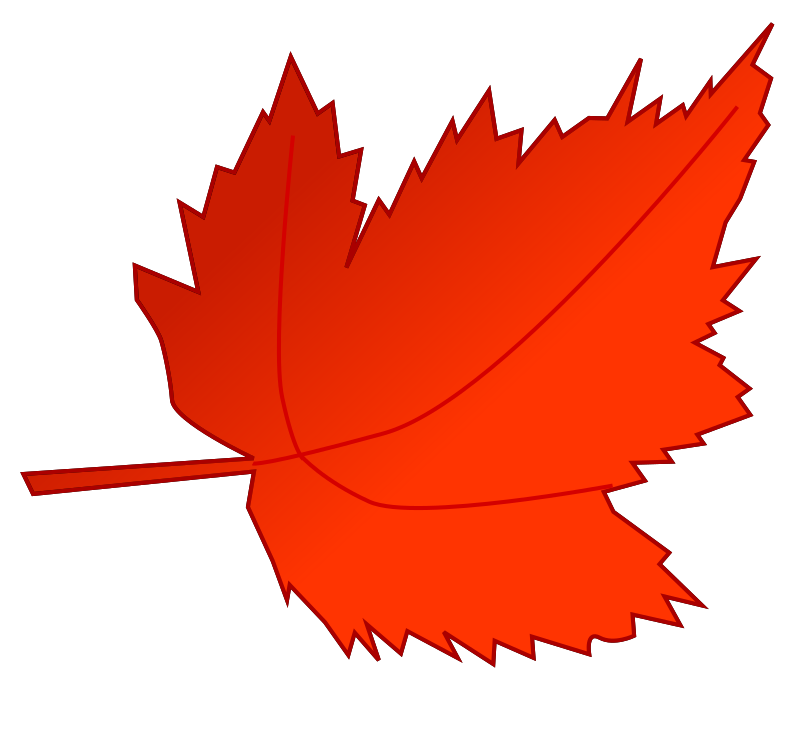 Leaf 2 by inky2010 - Mixed Fall clip art.