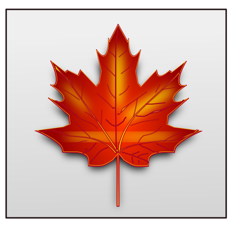 maple leaf by netalloy - fall 2010 collection clip art by netalloy
