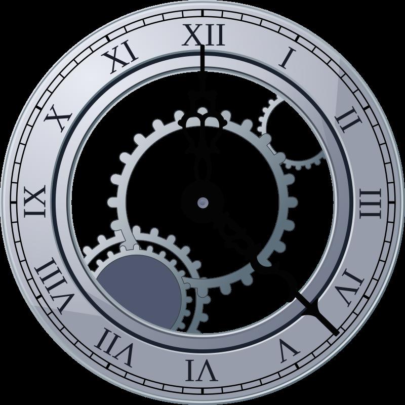 Roman Clock / Mikael Ganehag Brorsson, via Open Clip Art Library