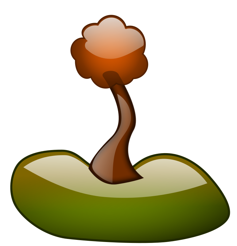 Glossy Tree by inky2010 - Glossy tree made in Inkscape