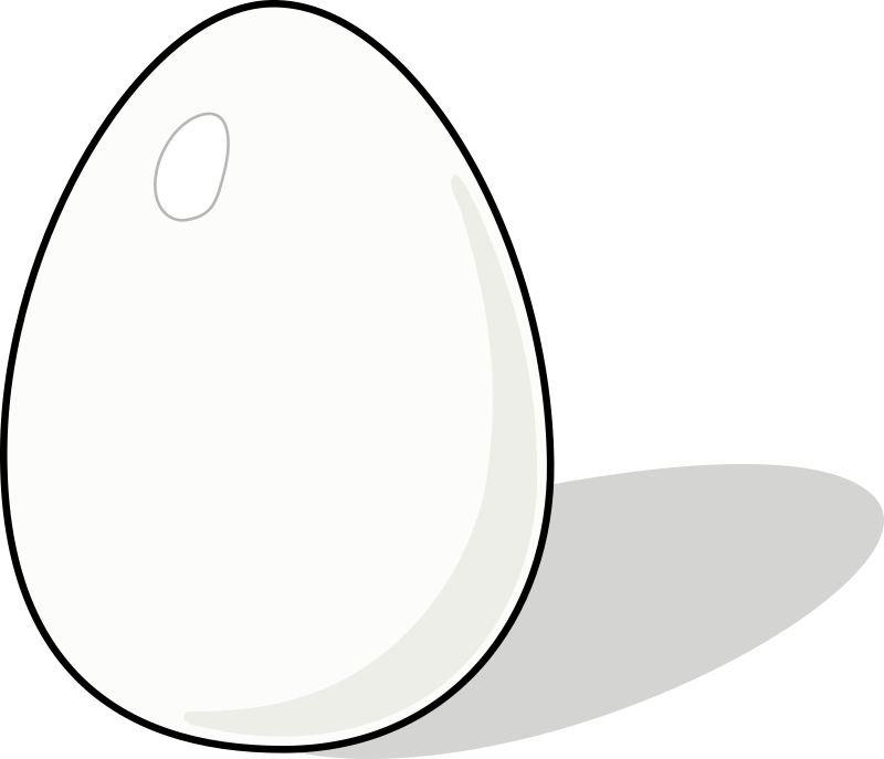 "Whiter Egg by carlitos - A variation on dStulle original ""white egg"" featuring a less yellowish egg."
