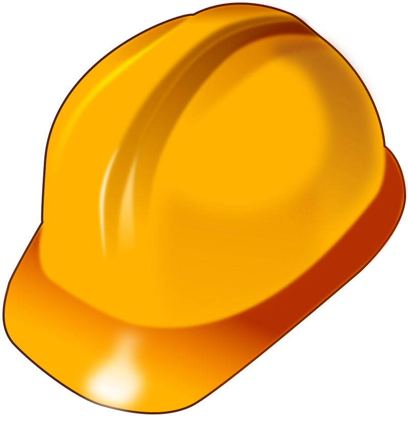 Hard Hat by pixzain - A construction Hard Hat.