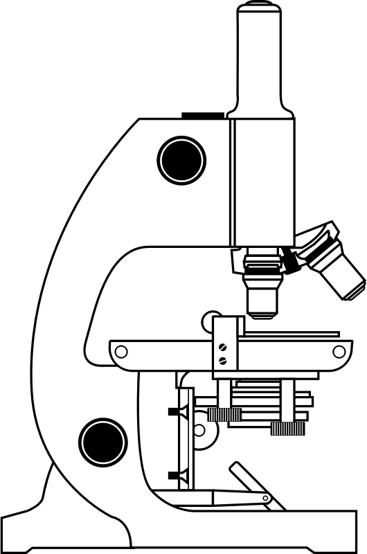 microscope with labels by johnny_automatic