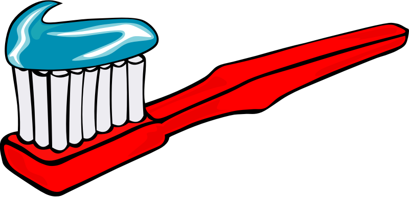 Toothbrush and toothpaste by Gerald_G - Done as a request.