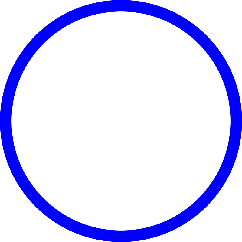 blue circle by mireille - blue circle