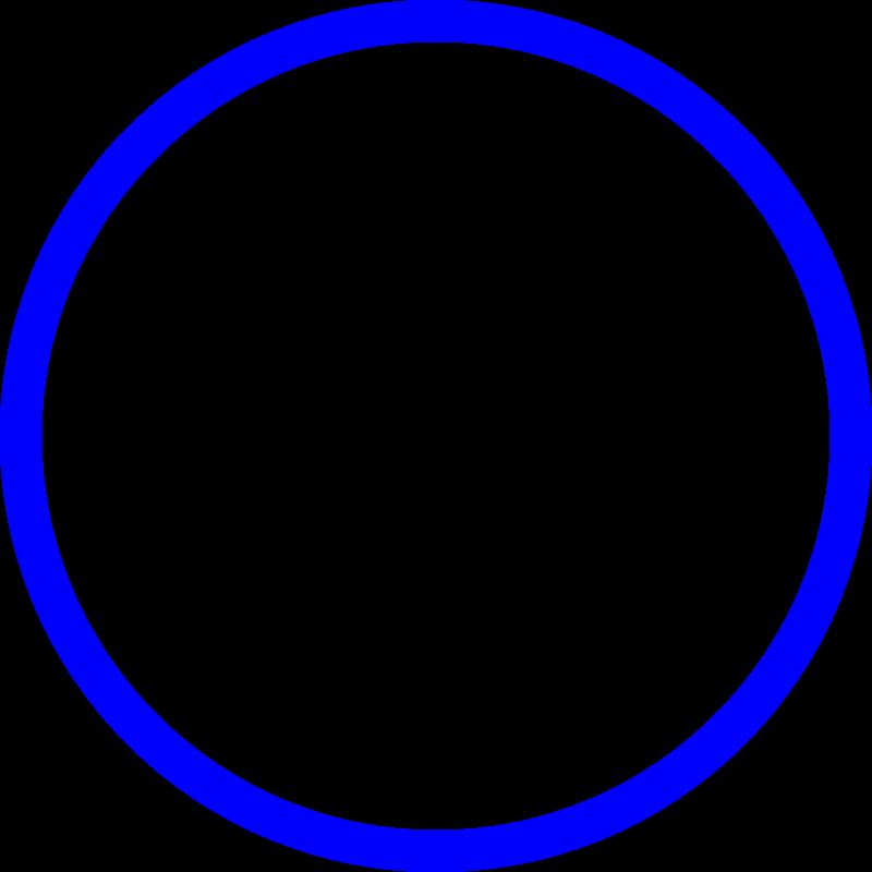 blue circle clip art - photo #15