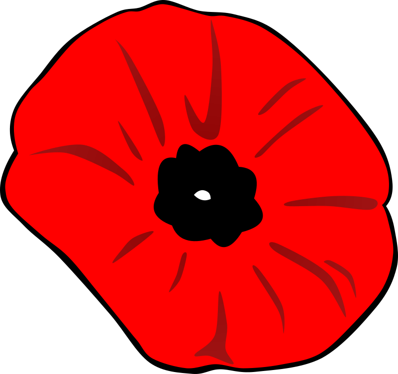 Poppy (Remembrance Day) by Gerald_G - A little late for this year, but while the subject is on my mind, I thought I might make some Rememberance Day images. 