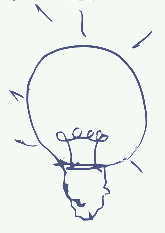 Bulb Idea  by aungkarns - Bulb Idea Freehand