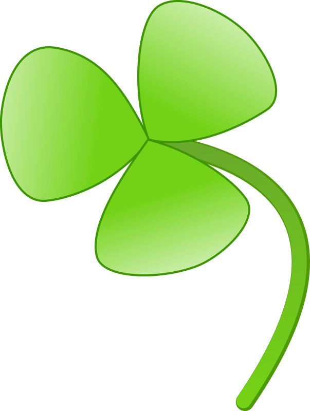 three leaves clover by mireille - a three leaves clover