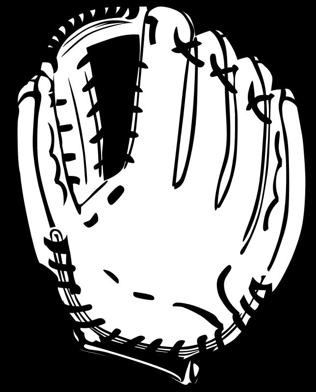 Clipart - Baseball glove