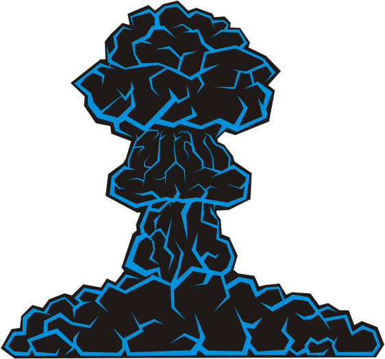 mushroom cloud by dasnolojy mushroom cloud Atomic Mushroom Cloud Cartoon Animated Mushroom Cloud