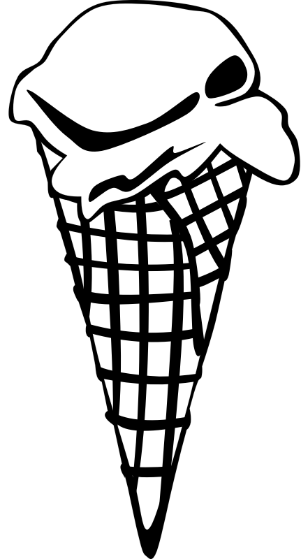 "Fast Food, Desserts, Ice Cream Cones, Waffle, Single by Gerald_G - This Clip Art is part of a fast food menu set. Search for ""fastfood"" to find all."