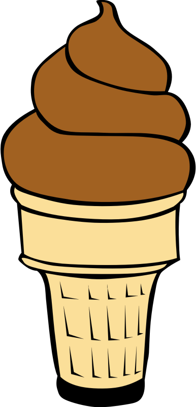 "Fast Food, Desserts, Ice Cream Cones, Soft Serve by Gerald_G - This Clip Art is part of a fast food menu set. Search for ""fastfood"" to find all."