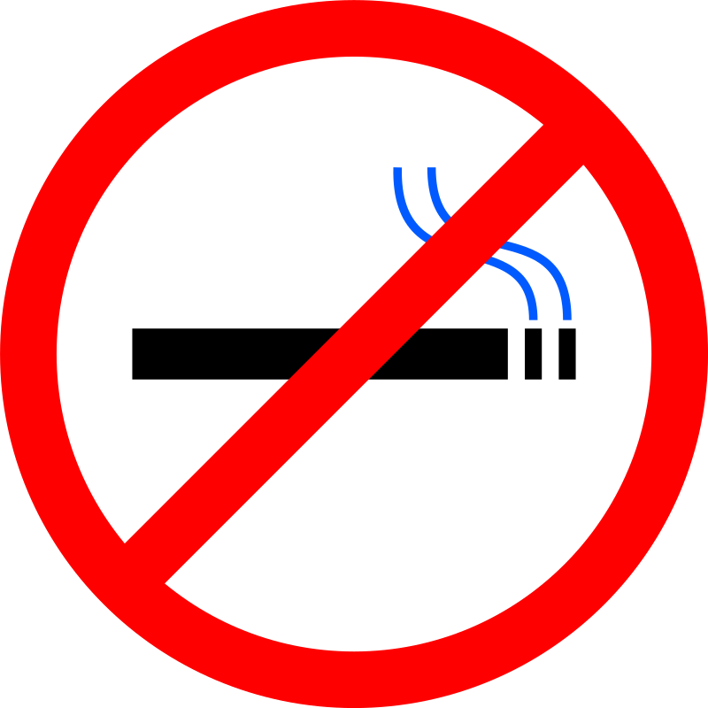No Smoking by smok - A simple no smoking sign