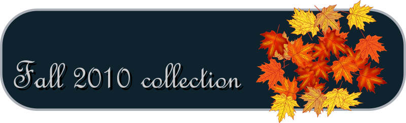 fall collection tab by netalloy - A fall 2010 collection tab icon.