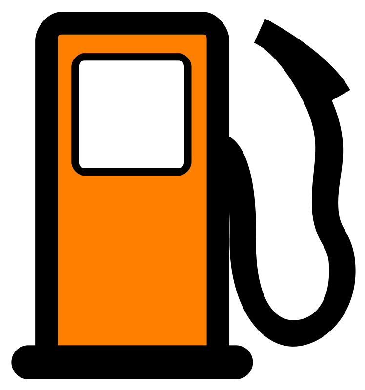 Clipart - Fuel pump map POI