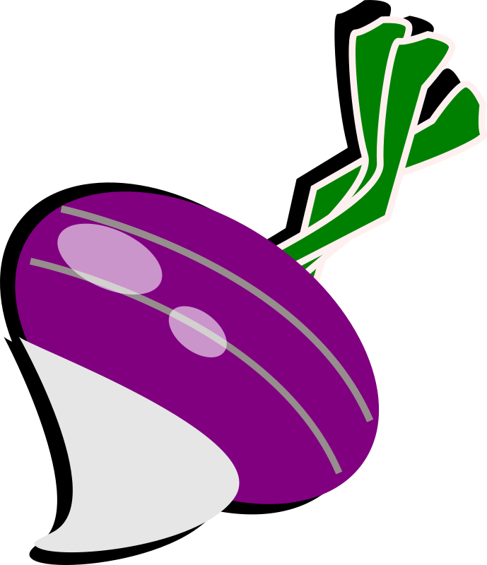 turnip by feraliminal - Stylized turnip.