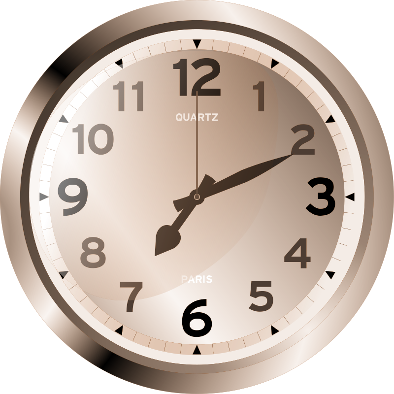 Javascript Modern Clock by filtre