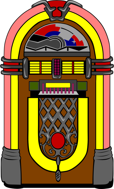 Fifties Jukebox by Gerald_G - For a request.
