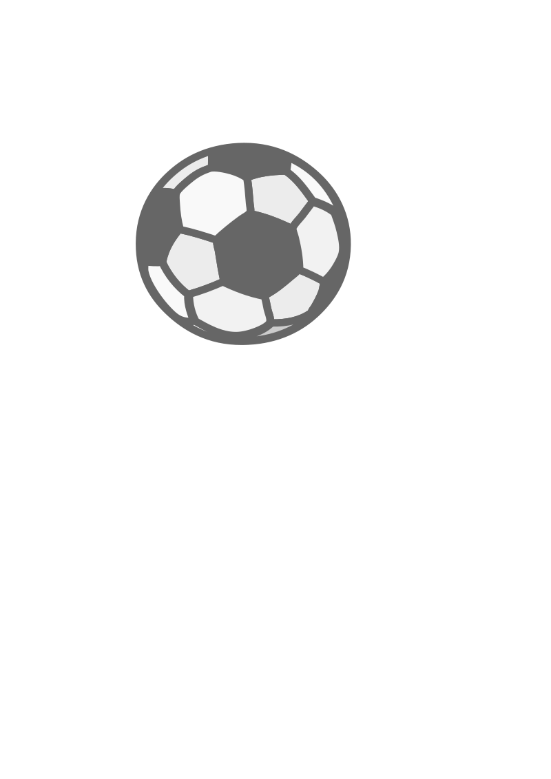 Soccer Ball by wildchief - a very simple soccer ball. useful for icons etc