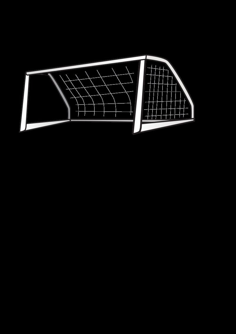 Clipart - Soccer Goal