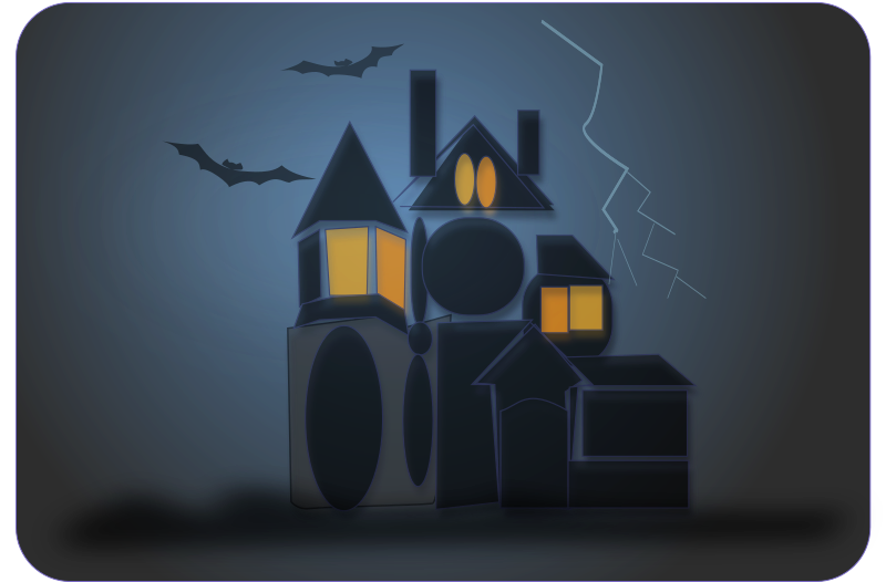 haunted house by netalloy -