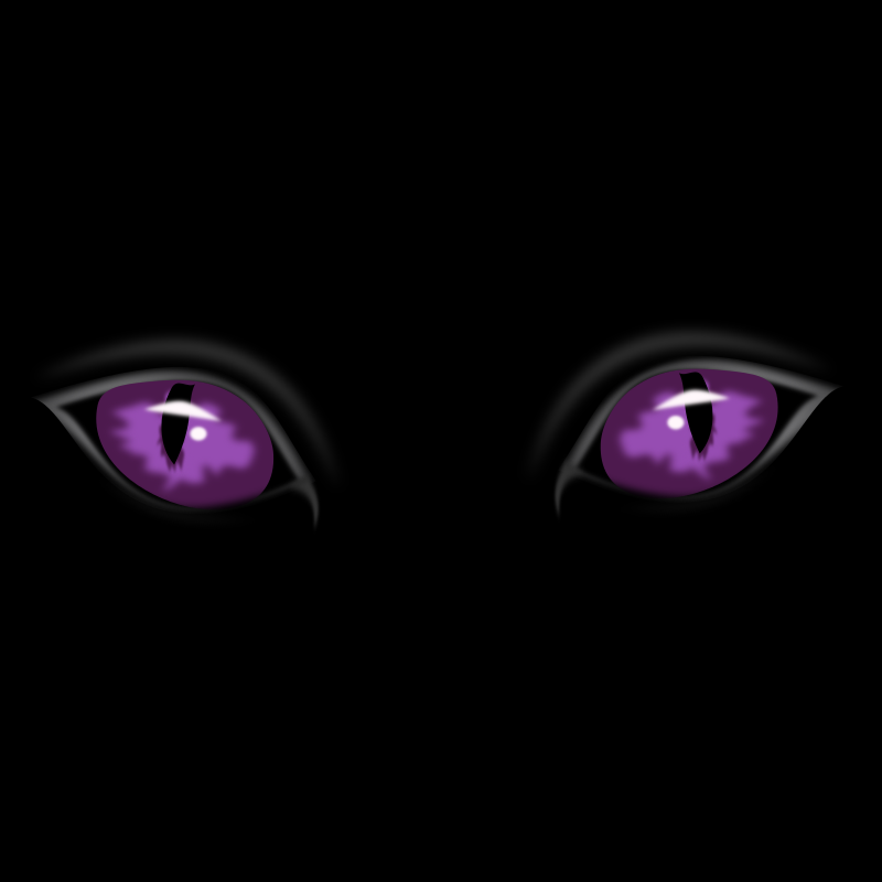eyes by netalloy by netalloy - Purple cat eyes perfect for halloween.