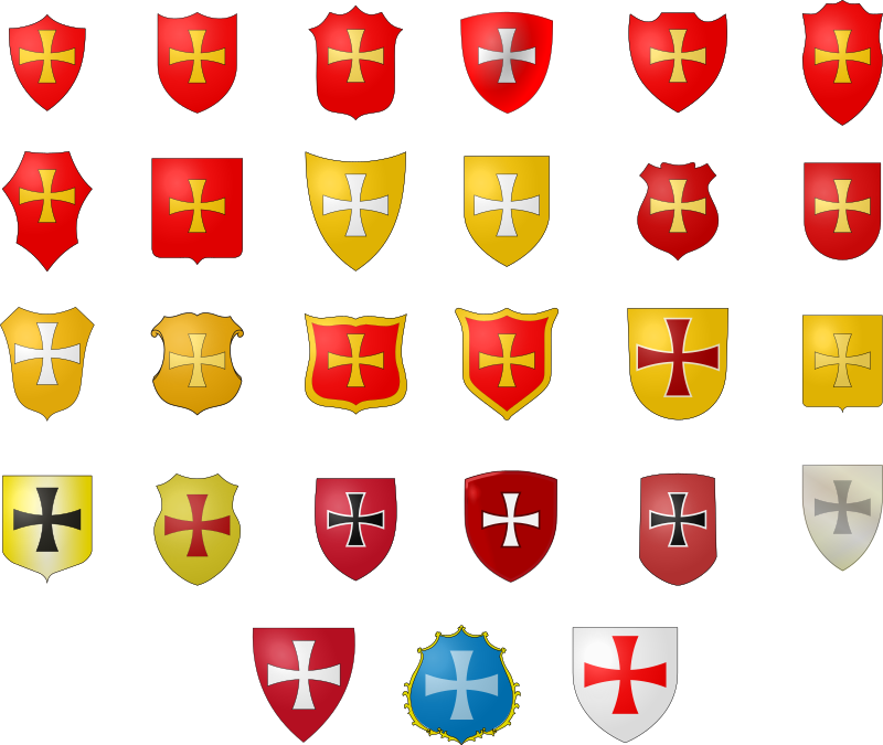 The Coat of Arms by filtre - Heraldic coat of arms template.