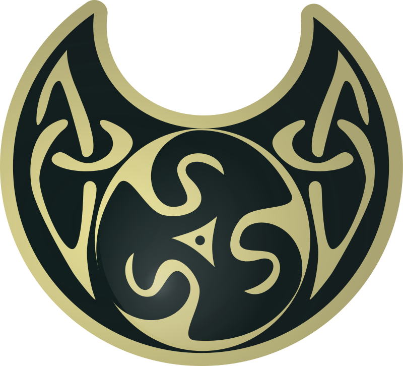 celtic necklace by zeimusu - pseudo celtic necklace, from a Public Domain jpeg on wiki commons